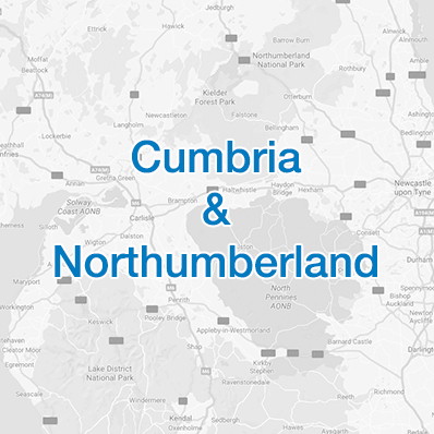 Cumbria and Northumbria